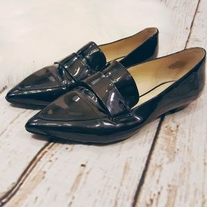 Nine West Pointed Toe Loafer/Flats Sz. 8